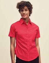 Short Sleeve Poplin Shirt Lady-Fit