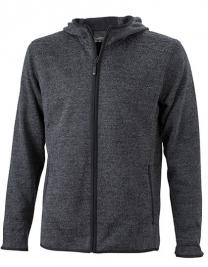 Men´s Knitted Fleece Hoody